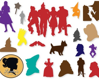 Wizard of Oz,  Wizard of Oz, svg files, wizard of oz Dorothy, dxf, files for silhouette, files for cricut, vinyl, svg files