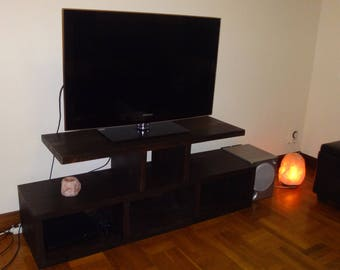 """Tv table,tv cabinet,tv console ,wooden tv stands,tv table stand,tv bench,media stand,long tv stand,tv stand cabinet """"From France with love""""."""