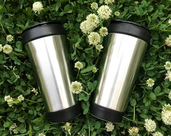 Travel Coffee Mug ( pick a decal)
