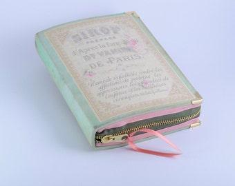 Book Clutch French Paris Perfume