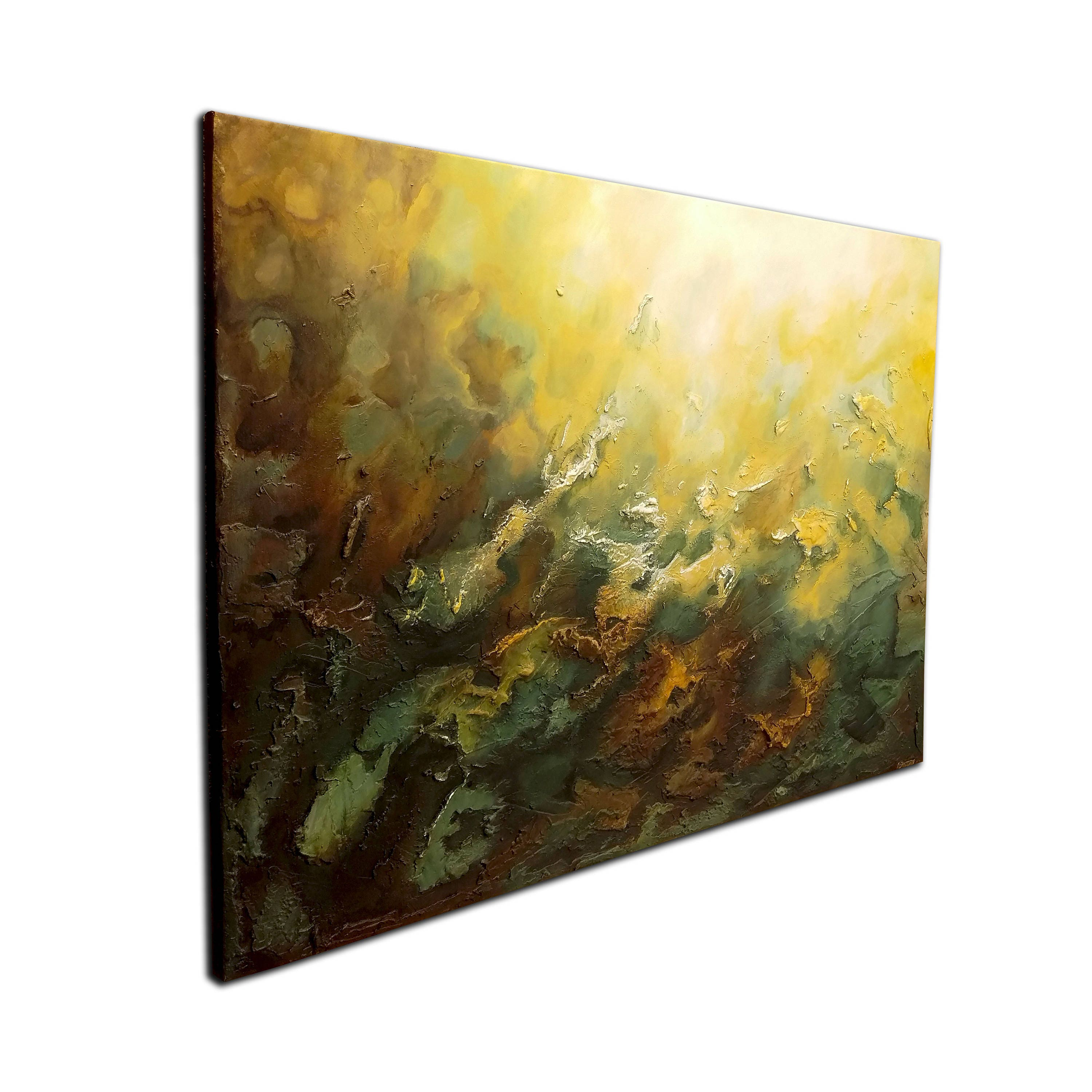 40 LARGE, Original ABSTRACT Textured PAINTING, canvas, Wall Art ...