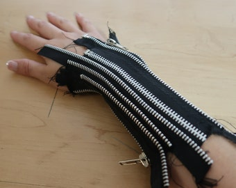 Zipper Arm Cuff- Womens