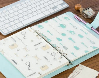 Life Style PP Dividers - 1PCS  Planner dividers for A5