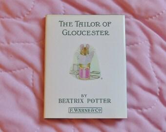 The Tailor of Gloucester, Beatrix Potter, children's book, bedtime story, gift for children, gift for teachers, vintage children's book
