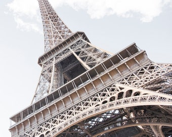 Paris Photography - The Icon, The Eiffel Tower, Paris Travel Photograph, French Urban Home Decor, Large Wall Art
