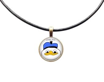 Dolan pendant Meme necklace Gooby jewelry Animal charm