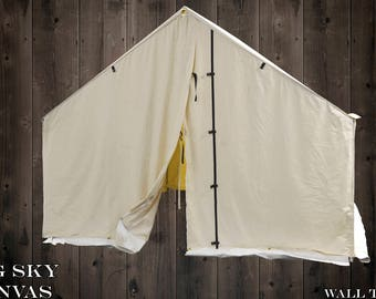 Big Sky Canvas Wall Tent 8' X 10'