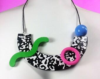 Shape Jumble Necklace (Color Palette 3)