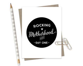Sweet Love Mothers Day Card  / Mothers Day Greeting Card / Card for Mom / Mom Love Card / Motherhood Card