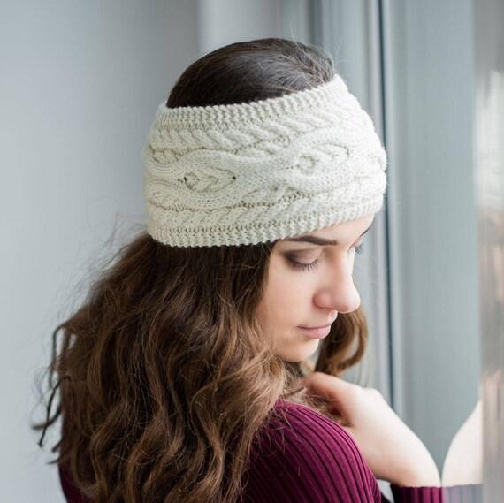 Headband Pattern Earwarmer Pattern Knit Ear Warmer Headwrap