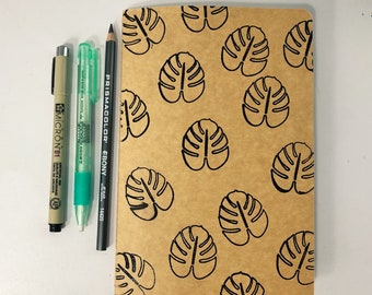 Monstera Sketch Book