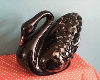 Vintage  1950s Midcentury Swan Vase