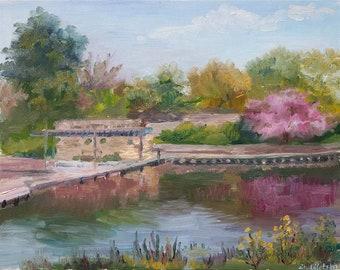 Magic Garden - Original Plein air Painting