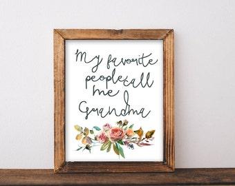 Grandma Gift, grandmother gift, grandparent gifts, grandparent gift, grandma gifts, grandmother gifts, printable, printable gift, gifts