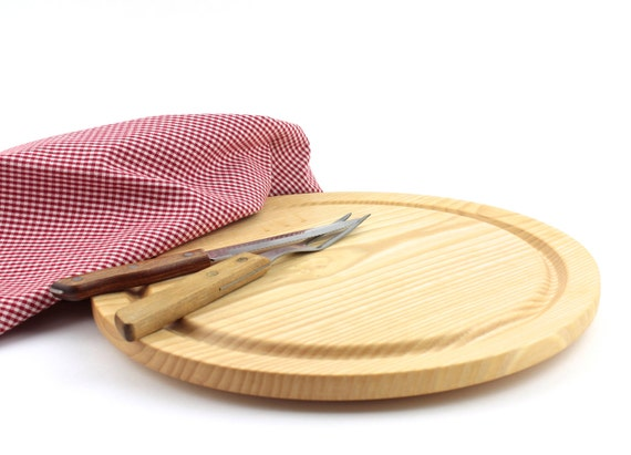 Wooden Steak Plate  Serving Platter Cutting board Chesse Platter Meat Board
