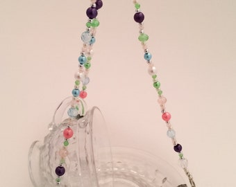 Pretty in Pastels—Crystal Clear—Punch-Cup Bird Feeder