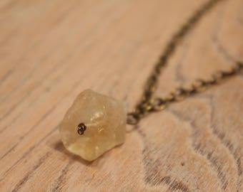 Statement pendant necklace