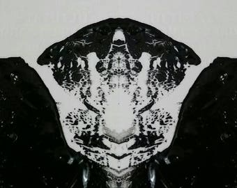 Ink blot art