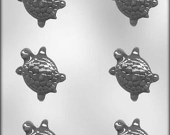 Turtle Chocolate Candy Mold Soap Plaster