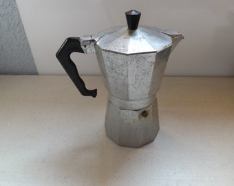 Two Piece Metal Camping Coffee Pot