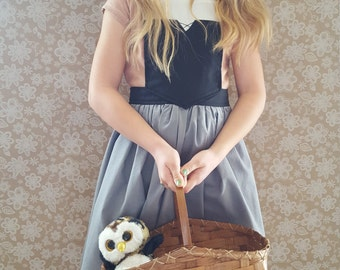 Sleeping Beauty Peasant inspired dress up apron