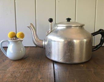 Ace Kitchenware Tea Kettle Aluminium Bakelite Handles Teapot Stovetop Food Styling Photo Prop Coffee Water Pot