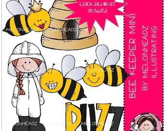 Beekeeper clip art - Mini
