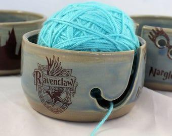 Ravenclaw Ceramic Yarn Bowl  - IN STOCK