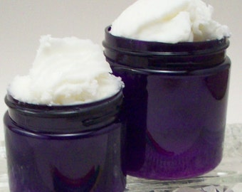 Lavender Whipped Shea Butter - Natural Bedtime Moisturizer - Lavendar Body Butter - Natural Scented Bath and Beauty