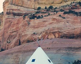 Arizona Teepee Photograph