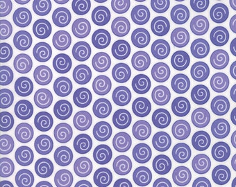 Rainy Day Purple Dot fabric by Me & My Sister Designs for Moda Fabrics #22294-11 Sidewalk Crack Dot