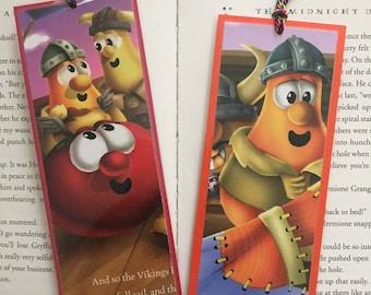 Veggie Tales Bookmarks