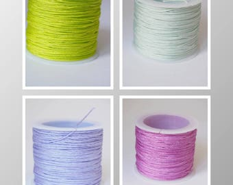 Nylon thread for sorts and other designs in 1 mm, sold by the yard