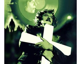 "John Carpenter's THE FOG  13"" x 19""  Artist Proof Art Print Classic Horror Movie Ghost Story"