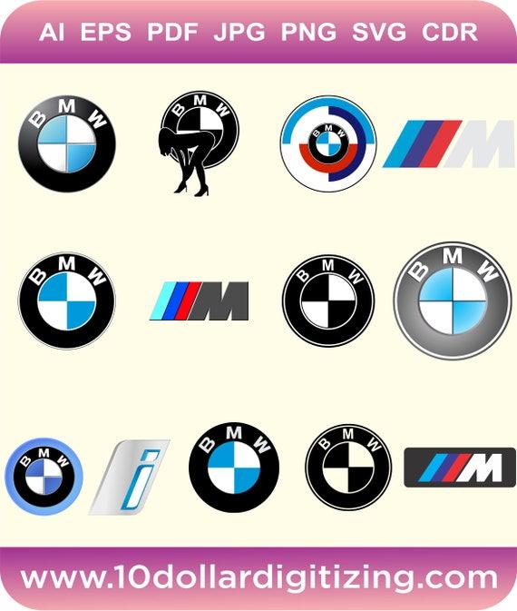 BMW Logo Vector Eps Bmw M Series Logo Vector BMW M Power