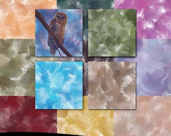 Fine Art Photoshop Textures: Wild Paintbrush