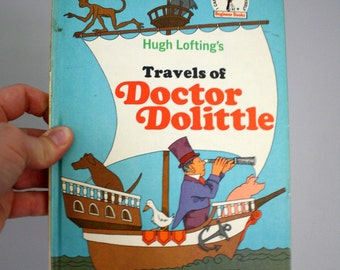 1967 Hugh Lofting's Travels of Doctor Dolittle by Al Perkins Illustrated by Philip Wende