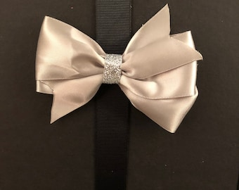 Classic Silver Bow