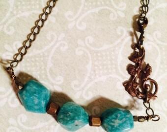 Russian Amazonite  Necklace