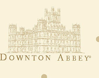 Andover Fabrics, Downton Abbey I · 7317-N The Downton Portrait                 -- 1/2 yards remnant