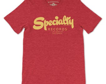 Specialty Records T-Shirt - (Official) Vintage Style Lightweight