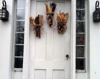 Calico Corn Fall Door Hanger