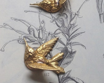 Medium Hummingbird Stamping ( 1 pc)