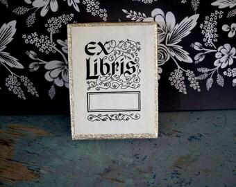Antioch Ex Libris Vintage Book Bookplates in Box | 20 Self-adhesive