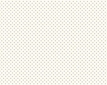 Riley Blake Le Creme Dots Gray Polka-dot 100% quilting cotton C600-40 *