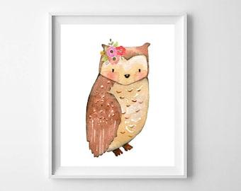 Nursery Decor, Nursery Wall Art, Woodland Nursery, Baby Shower Gift, Nursery Art, Woodland Animals, Instant Download, Wall Art, Easter Gift