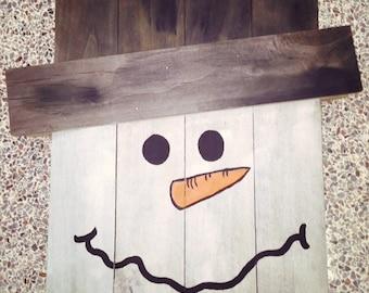 Scarecrow/Snowman Decor
