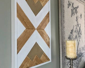 Wood Wall Art - Wooden Wall Art - Geometric Wood Art - Wooden Wall Art Hanging - Modern Wood Art - Boho Wood Art - Wood Wall Decor