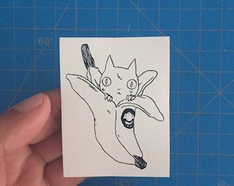 Banana Cat 2 Sticker