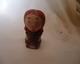 Vintage Buddy L Hard Plastic Doll or Figure, made in Hong Kong, collectable, toy